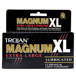 Male condom - Trojan Magnum XL (12 PACK) - view #3