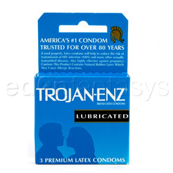 Male condom - Trojan-enz lubricated - view #3