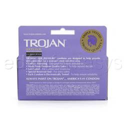 Male condom - Trojan her pleasure sensations - view #2