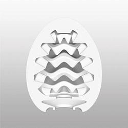 Masturbator in a plastic case - Egg masturbator - view #3