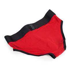 Panty harness - Tomboi harness red - view #2