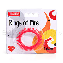 Cock ring - Rings of fire blaze - view #2