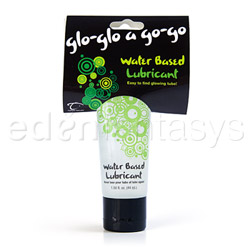 Glo a go water based lubricant