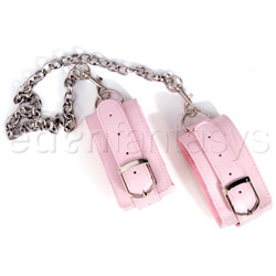 Ankle cuffs - Pink plush ankle cuffs - view #2