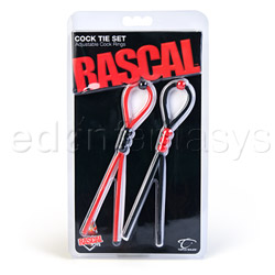 Rascal cock tie set - ring set