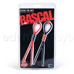 Rascal cock tie set - cock ring