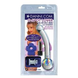 Danni's e-glass G-spot lover - Glass G-spot shaft