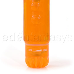 Traditional vibrator - Climax gems orange appeal - view #4