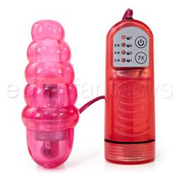 Swirl spot lollipop - egg vibrator
