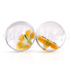 bolas vaginales - Glass ben wa balls - view #3