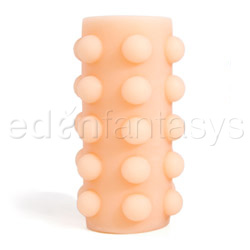 Cyberskin reversible stroker - masturbation sleeve