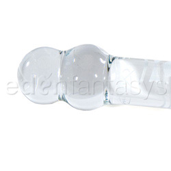 Glass G-spot shaft - Savanna's spiral wrapped G-spot wonder - view #4
