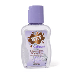 Naturals gel lubricant - silicone based lube