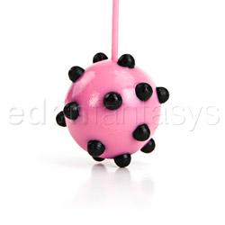 Vaginal balls  - Joanna Angel's spiked duotone balls - view #2