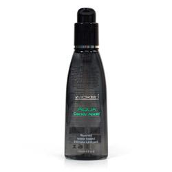 Aqua flavored - water based lube