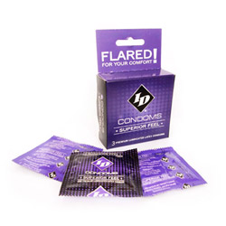 Male condom - ID superior feel condoms - view #2