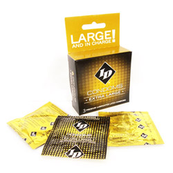 Male condom - ID extra large condoms - view #2