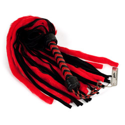 Faux fur flogger - flogging toy