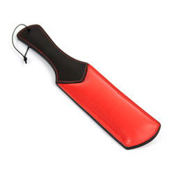 Eden padded leather paddle - flogging toy