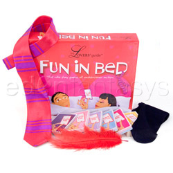 The lover's guide fun in bed - adult game