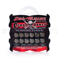LR44 batteries 12 pack