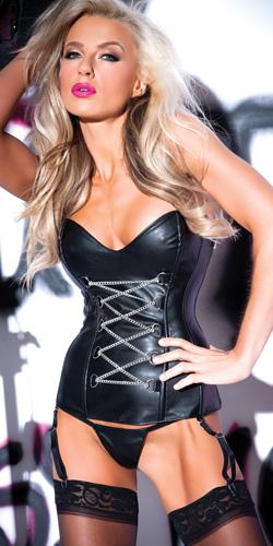 Chains of pleasure corset