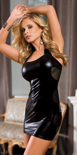 Simply hot mini dress