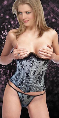 Elegant corset set
