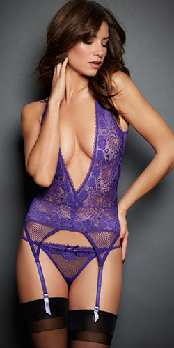 Temptation bustier - Bustier and panty set