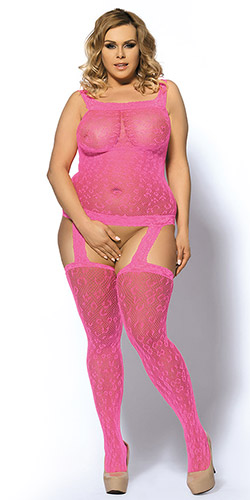 Cheetah bodystocking queen size