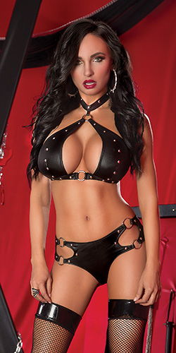 Juno queen size - Bra and boyshort set