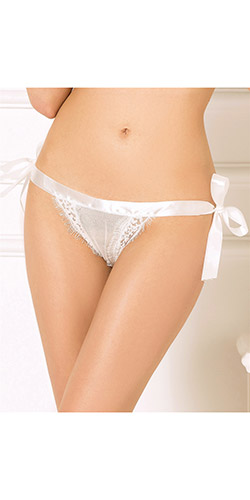 Crotchless open back panties - Crotchless panty