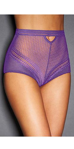 Retro mesh sexy panty