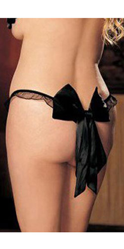 Back Bow thong