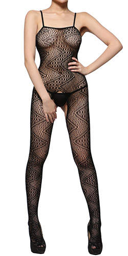Irresistible Temptation 14 bodystocking - Crotchless bodystocking
