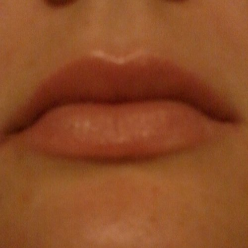 my lips with eos vanilla