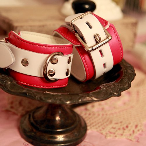 Candy Pink Cuffs 2