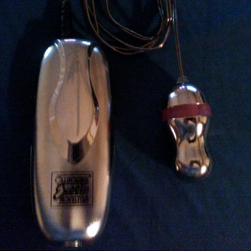 Lighted Shimmers Leo Turbo Teaser clitoral vibrator by Cal Exotics