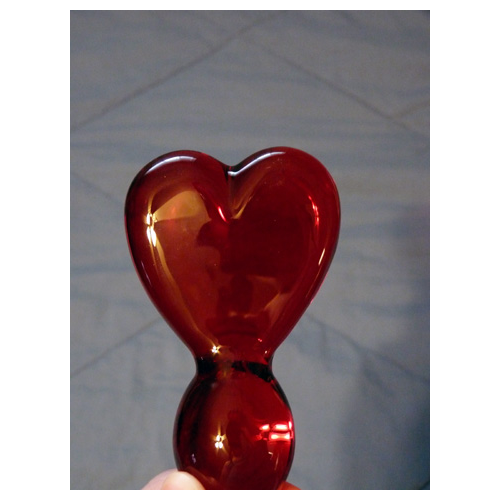 Heart shaped end