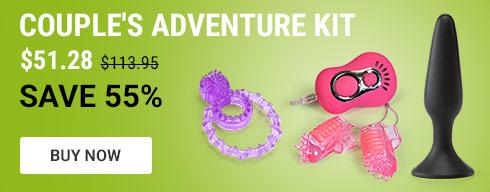 Couple's adventure kit
