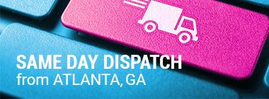 Same Day Dispatch from Atlanta, GA