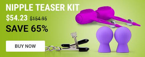 Nipple teaser kit