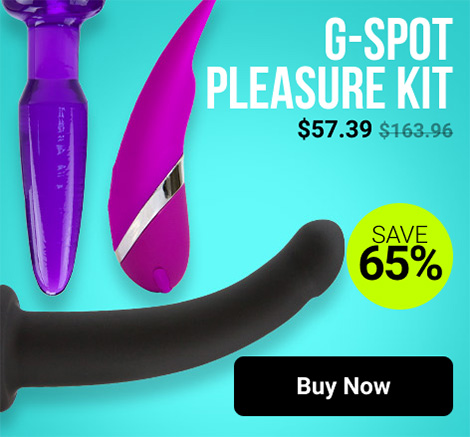 Save 65% On G-spot Pleasure Kit