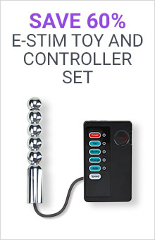 Save 60% On E-stim Toy And Controller Set