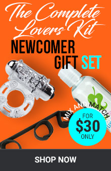 The Complete Lovers Kit! Newcomer Couples Gift Set For $30