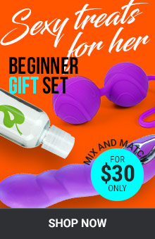 Sexy Treats For Her! Beginner Gift Set For $30 Only