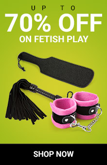 Up to 70% off Fetish Toys