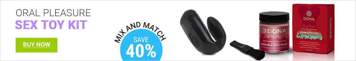 Save 40% On Oral Pleasure Kit