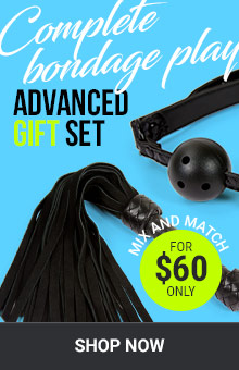 Complete Bondage Play! Advanced Gift Set For $60