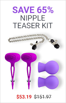 Save 65% On Nipple Teaser Kit